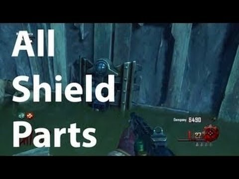Black Ops 2 Zombies Origins How To Build The Zombie Shield - BO2 Origins Part Locations - TUTORIAL - Smashpipe Games