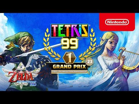 TETRIS 99 x The Legend of Zelda: Skyward Sword HD ? Im Grand Prix geht es himmelwärts!