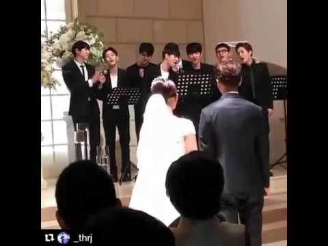 EXO's Manager's wedding