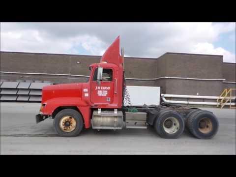 1997 Freightliner FLD semi truck for sale | no-reserve Internet auction April 20, 2017
