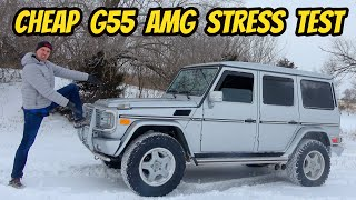 Was Buying the Cheapest Mercedes G55 AMG with 220,000 Miles a Mistake?