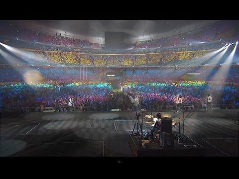 Mayday五月天諾亞方舟演唱會【倔強】北京鳥巢 20萬人肉彩虹