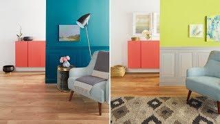 DIY Paint Ideas: One Room, Three Looks!