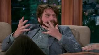 Zach Galifianakis being funny with Craig Ferguson