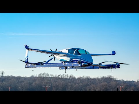 Boeing's self-piloted passenger drone completes first test flight