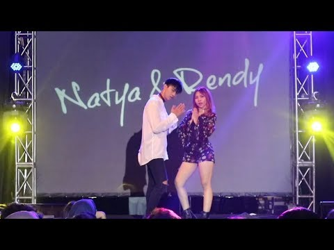 [LATATA, FEELING, LO SIENTO] Natya & Rendy at KPOP Spring Festival 2018 (13 May 2018)