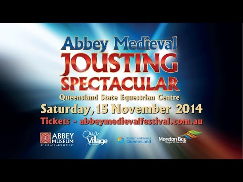 Abbey Medieval Jousting Spectacular: Official Television Commercial 2014
