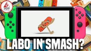 Laboman! Will Labo Be In Super Smash Bros. Switch?