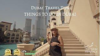 Things to do in Dubai  - Dubai Travel Tips
