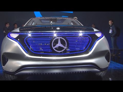 @MercedesBenz #EQ Concept Exterior and Interior in 3D