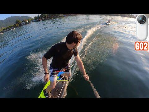 Jet Surfing con Insta360 GO2 Test di res …