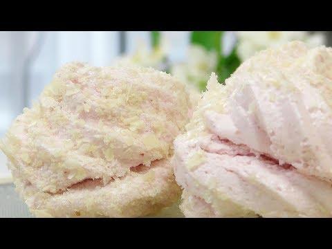 Зефир клубничный на агар-агар видео рецепт