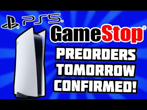CONFIRMED: PS5 PREORDERS AT GAMESTOP IN-STORE TOMORROW! 9/25