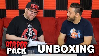 January 2020 Horror Pack Unboxing! - Horror Movie Subscription Box