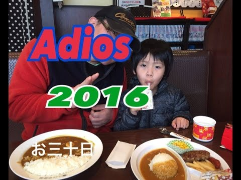 Adios 2016 ultimo video !!  japon