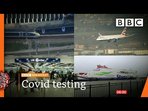 Covid-19: 'Test negative before arrival' plan 🔴 @BBC News live – BBC