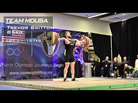 USAW 2014 American Open Trevor Britton Highlights
