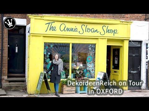 Kreativ Workshop im Atelier von ANNIE SLOAN + GEWINNSPIEL   DekoideenReich on Tour in OXFORD