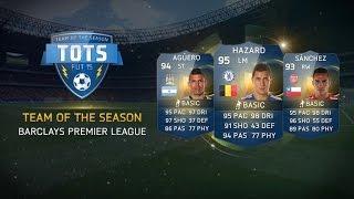 تفجير بكجات تشكيلة الموسم الانجليزية | FIFA 15: Team of the Season -