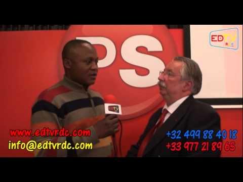 """INTERVIEWS APRES LA CONFÉRENCE DÉBAT """"BELGIQUE - RDCONGO..."""