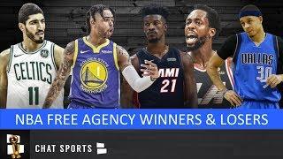 NBA Free Agency Winners & Losers + Day 2 Free Agency Tracker
