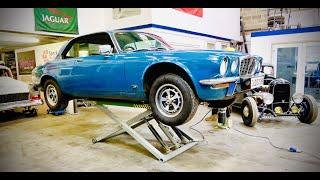 Jaguar XJC V12 manual restoration part 1. Just how rusty is it?