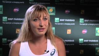2016: Bacsinszky R3 Interview