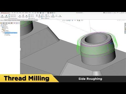 Thread Milling - What's New in BobCAM for SOLIDWORKS™