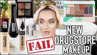 TESTING NEW DRUGSTORE MAKEUP 2019 | FULL FACE OF FIRST IMPRESSIONS | IamJustOlena