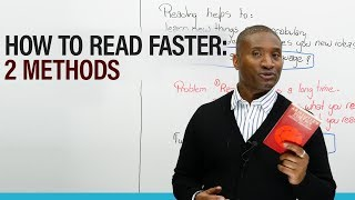 How to READ FASTER: 2 tricks