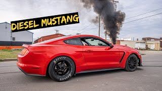 The Cummins Mustang is Ready to Race