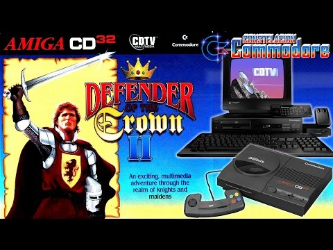 Defender of The Crown II CDTV-CD32 | Historia, Gameplay y Review