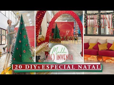 20 DIYs p/ Decorar! Especial de Natal! #Maddureinventa