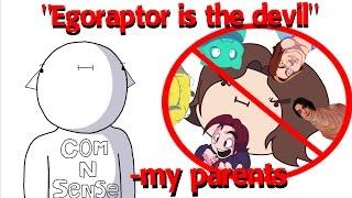 I Wasn't Allowed To Watch Egoraptor