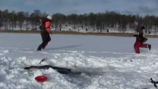 Huge ice fishing catch!