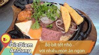 Quán bò bít tết nhỏ với nhiều món ăn ngon | Địa điểm ăn uống