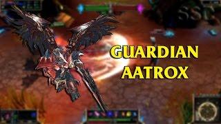 Guardian Aatrox 厄薩斯自製skin