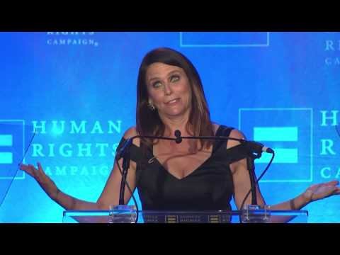 Amy Landecker Receives the HRC Ally For Equality Award