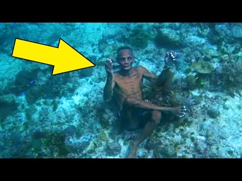 These People Live in the Water! The Unusual Life of People Nobody Knew About!