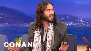 Russell Brand Really Knows That Charlie Sheen Fellow - CONAN on TBS