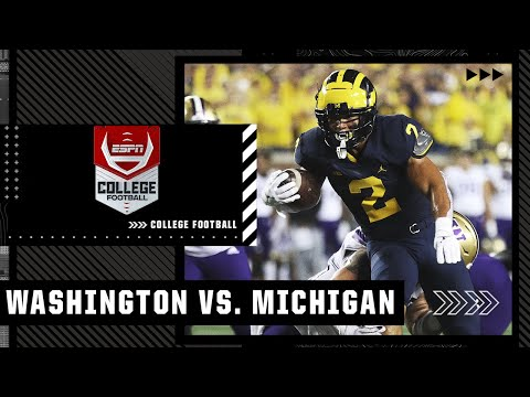 Washington Huskies at Michigan Wolverines   Full Game Highlights