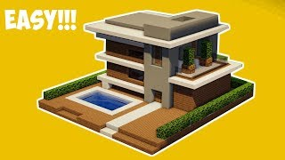 Minecraft Tutorial Cara Membuat Rumah Modern 9 Tải Video Nhạc