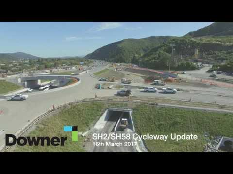 SH2/SH58 Cycleway Update (March 2017)