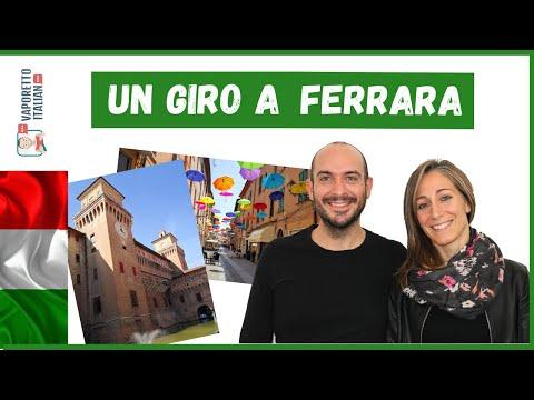 """VLOG 8: """"In giro per Ferrara""""   Alla scoperta del centro storico di Ferrara (Livello avanzato)"""