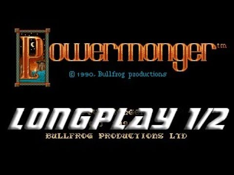 Powermonger (Commodore Amiga) Longplay Part 1/2