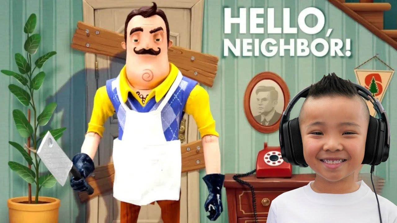 Found His Secret Basement Hello Neighbor Act 3 Part 1 CKN Gaming