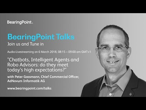 Chatbots, Intelligent Agents and Robo Advisors: do they meet today's high expectations?