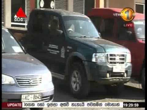 State Vehicles Found From Wariyapola [VIDEO]