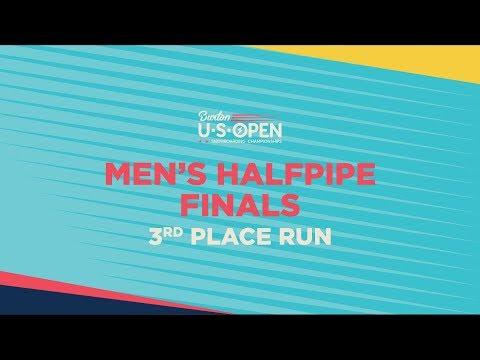 2019 Burton U·S·Open Men?s Halfpipe Finals ? Yuto Totsuka's 3rd Place Run