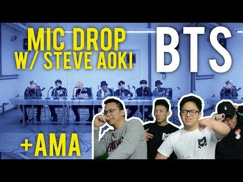 BTS and STEVE AOKI